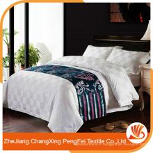Linge de lit en tissu textile de style blanc de style classique