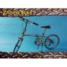 Quadro de bicicleta bicicletas/peças e quadro de bicicleta garfo/titânio para Zh15tbf01 de bicicleta de dobramento