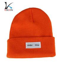 Chapeau de Hip Hop Hip Hop personnalisé de haute qualité Chapeau de Beanie tissé avec un logo personnalisé