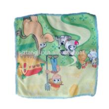 Toalla de niños material de microfibra modificado para requisitos particulares barato, toalla impresa historieta, toalla para niños
