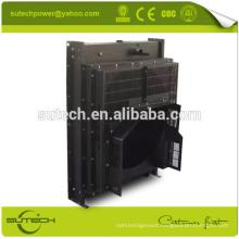 Copper core water radiator for Cummin KTA19-G4 engine