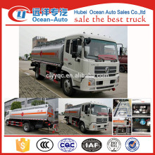 Cheap 5000 liters capacity fuel tank truck for sale
