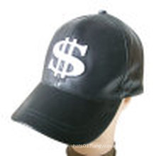 Leather Cap in Solid Color (LT-4)