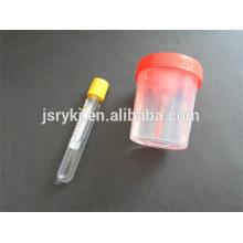 Tubo de vácuo de urina 9,5 ml / tubo de ensaio / tubo de vácuo de sangue