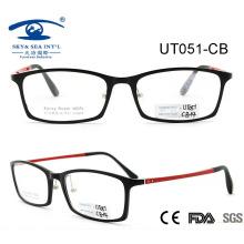 Nuevo diseño para los marcos ópticos de las lentes de Ultem para los hombres y las mujeres (UT051)