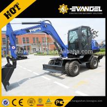 Wheel Type 8 Ton Hydraulic Wheel Excavator WYL90