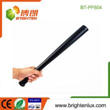 Fabrik OME Metall Material Handheld Big Notfall Polizei 3watt High Power Baseball Form Cree LED Taschenlampe