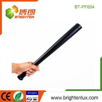 Factory OME Metal Material Handheld Big Emergency Police 3watt High Power Baseball Shape Cree led Flashlight
