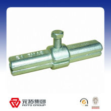 48.3mm Forged Scaffolding Material Inner Joint Pin coupler manufacturer