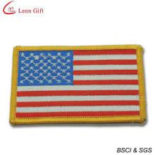 Venta caliente USA bandera bordados parches para el recuerdo (LM1565)