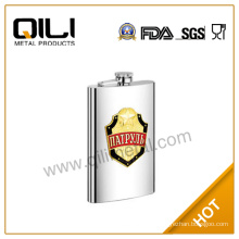 10oz russian stainless steel liquor flask for promotion