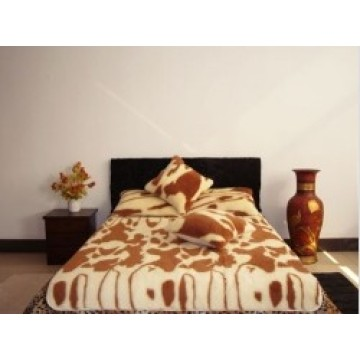 Camel Wool Mattress fabric