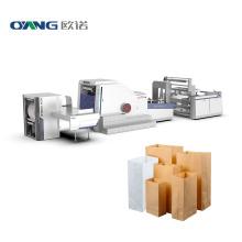 High Speed Square Bottom Shopping Paper Bag Machine, Kraft Paper Bag Making Machine China