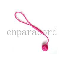 Punhos de macaco rosa paracord