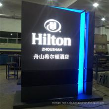 Display Stand Werbung Leuchtkasten mit LED-Beleuchtung