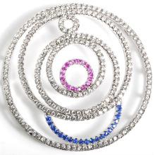 Accesorio al por mayor de la conexión del metal CZ para el collar DIY de la perla de la joyería