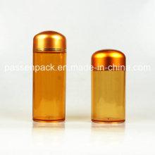 Plastic Pharmaceutical Packaging Flasche für Medizin Pillen (PPC-PETM-025)