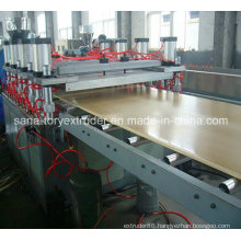 Plastic PVC WPC Crust Foam Board Extrusion Machinery
