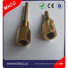 MICC Thermocouple sheath with brass