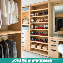 Luxus Schlafzimmermöbel Hochwertiger begehbarer Kleiderschrank Schrank (AIS-W043)