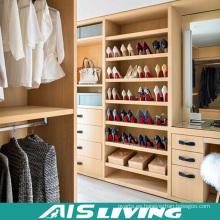 Dormitorio de lujo muebles de alta calidad Walk in armario armario (AIS-W043)
