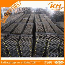API 11 B Huile Anti-corrosion Hollow & Solid Sucker Rod en stock