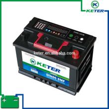 55d23l batería de coche SMF batería marca Keter baterías de coche usadas para la venta