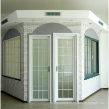 Woodwin Double Tempered Glass Thermal Break Aluminum Casement Door/ French Door
