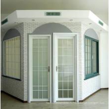 Вудвин Двойной закаленный стекло Термальный перерыв Алюминиевый дверной замок / Французская дверь