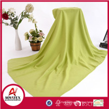 100% polyester cheap price promotion solid color polar fleece blanket
