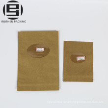 Custom made food grade ziplock paper bags