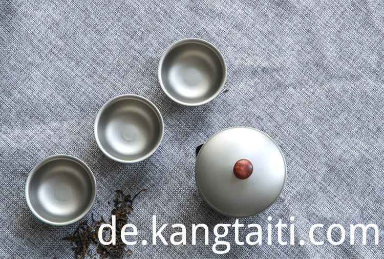 Portable Double Tea Set