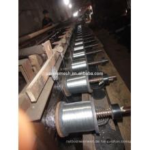 0,28mm-0,5mm feuerverzinkter Eisendraht für Japan-Markt