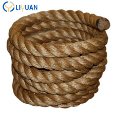 Sales Promotion 4mm Twisted Corrosion Protection Natural Hemp Rope