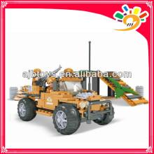 Militärfahrzeuge Spielzeug Block DIY Militärfahrzeuge blockiert Spielzeug (228pcs)
