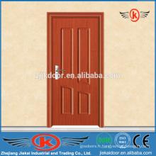 JK-P9056 MDF / PVC Porte intérieure en bois de chambre