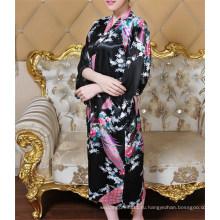 Новый стиль сексуальные красивые японские шелковые кимоно одеяние (FS5821)