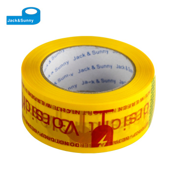 Fita adesiva de BOPP / fita impressa feita sob encomenda