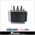 Le transformateur électrique de 11kv 3 de transformateur de distribution de phase abaissent le transformateur d'huile