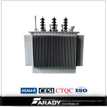 Transformador de potencia sumergido en aceite 1000kVA