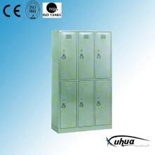 Stainless Steel Six-Door Dressing Cupboard (U-15)