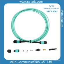 MPO / MTP Om3 Glasfaserkabel Patchkabel