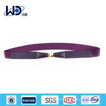elastic dress belt pu strap belt