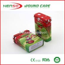 HENSO CE ISO Cartoon Band Aids With Tin Box