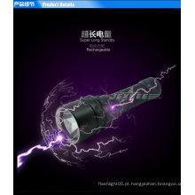 Mergulho poderoso lanterna led pequena lâmpada portátil