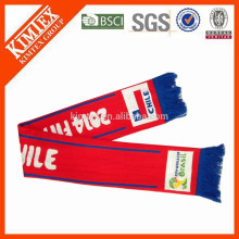 Knitted World Cup Football Scarf
