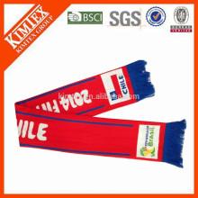 Футбольный шарф из трикотажного полотна