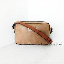 Bolsos de cuero con estilo de la PU de las mujeres del diseñador de la marca de fábrica (NMDK-051704)