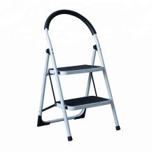 Escalera de escalera redonda de acero inoxidable de 3 pasos antideslizante
