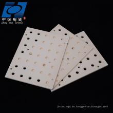 Plato de cerámica de alúmina
